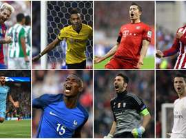 Who made it into the list of the best goalscorers and keepers? BeSoccer
