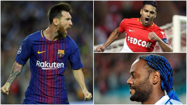 Messi, Falcao and Wagner Love all feature on the list. BeSoccer