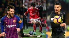 Les chiffres de Joao Félix sont supérieurs à ceux de Messi et Ronaldo. AFP/EFE