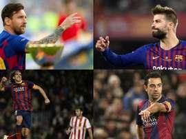 I 10 migliori prodotti della cantera del Barça. EFE/AFP