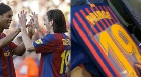 Messi portó el '19' que, ahora, será de Boateng. BeSoccer