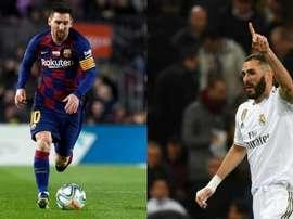 Barca play Madrid. BS