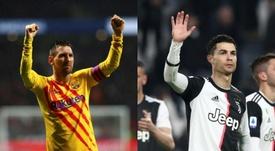 O homem que quase juntou Messi e Cristiano na Juventus. EFE/AFP