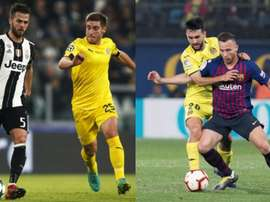 The comparison between Arthur and Pjanic: who is better?.