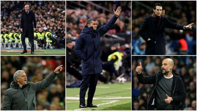 Ce sont les entraîneurs les plus prestigieux du football européen. BeSoccer
