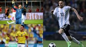 Los capitanes más importantes del Mundial. BeSoccer