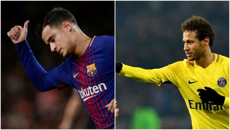 No hay tanta diferencia entre Barça y PSG en el gasto de mercado. AFP