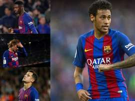 Neymar's departure has left an unfillable void. EFE/AFP