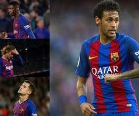 Un vuoto per il Barça. EFE/AFP