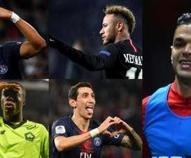 Neymar é candidato a 'MVP' do Campeonato Francês. AFP/EFE