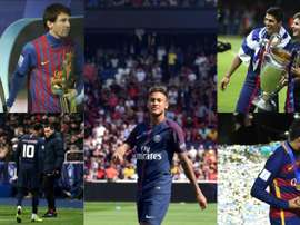 Les dix moments des dix années de Neymar dans l'élite AFP/EFE