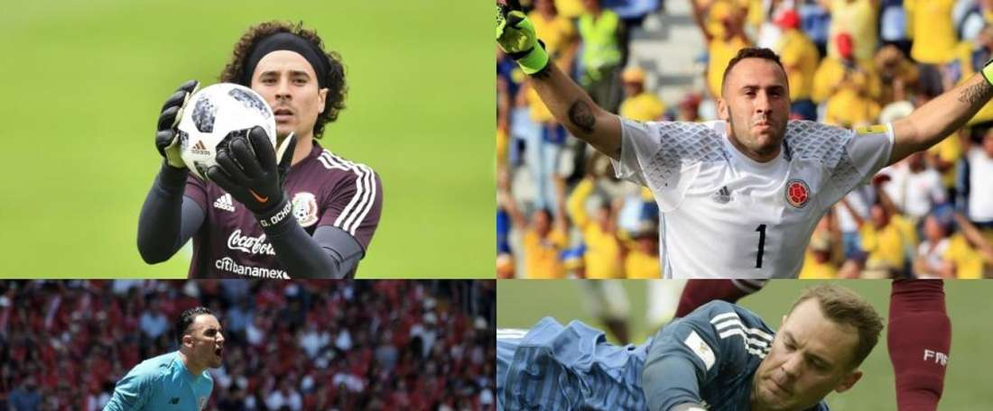 The best shotstoppers of the group stages. BeSoccer
