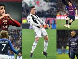 Les 10 joueurs les mieux payés du monde en 2019. AFP/EFE/BeSoccer