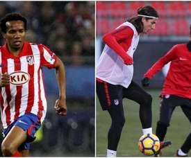 Gustavo Henrique, hijo de Paulo Assunçao, busca su lugar en el Atleti. ClubAtléticodeMadrid