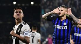 El Atleti busca un perfil distinto al de Icardi o Dybala. AFP