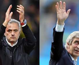 Both coaches will come face to face this Saturday. EFE/Archivo