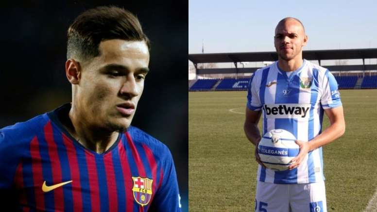 From Coutinho to Braithwaite in two years . AFP/EFE