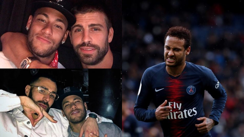 The photo with Benzema is similar to that of the one with Pique. IG/3GerardPique/KarimBenzema/EFE