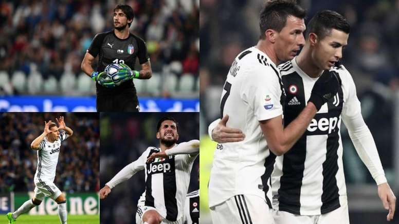 Os 7 rejeitados por Sarri que podem sair da Juve em janeiro. BeSoccer/EFE/AFP