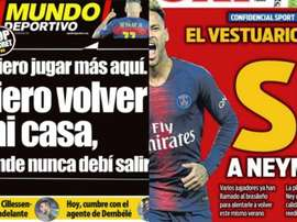 Barcelona is already daydreaming about Neymar. Sport/MD