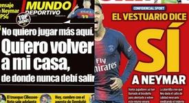 Barcelona is already daydreaming about Neymar. Sport/MD