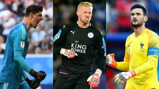 Les trois finalistes du prix The Best du meilleur gardien. BeSoccer