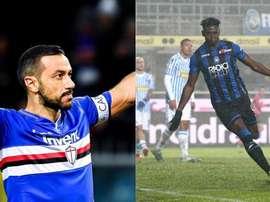 Zapata sigue siendo propiedad de la Sampdoria. Montaje/BeSoccer