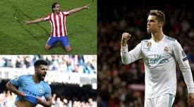 Jovic, el último en incorporarse a este selecto club. Montaje/BeSoccer