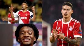 Los mejores colombianos en Europa. Montaje/BeSoccer