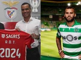 La dure adaptation de Jesé et De Tomas. Benfica/SportingCP
