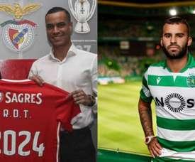 A dura adaptação de Jesé e De Tomás. Benfica/SportingCP