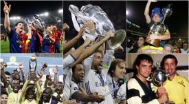 Estos son los equipos que más títulos internacionales tienen en sus vitrinas. BeSoccer