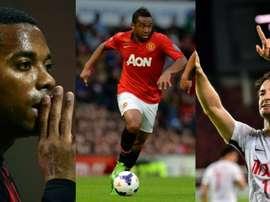 Robinho, Anderson et Pato auraient pu devenir de grandes stars. AFP