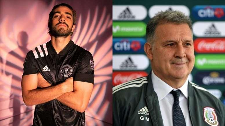 El Tata aconsejó a Pizarro su fichaje por el Inter Miami. Montaje/InterMiami/EFE