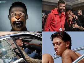 Ronaldo, Messi, Balotelli and Pique are all whimsical in their own way. BeSoccer