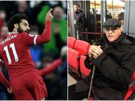 Salah invitó al que fuera presidente del Zamalek a ver el Liverpool-Chelsea. BeSoccer