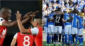 Los dos equipos que jugarán la final en Colombia. EFE
