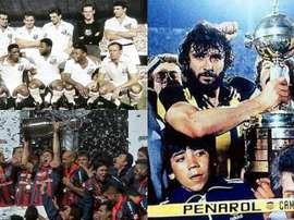 Les clubs qui ont gagné le titre en pleine année de Mondial. Conmebol/Youtube/EFE