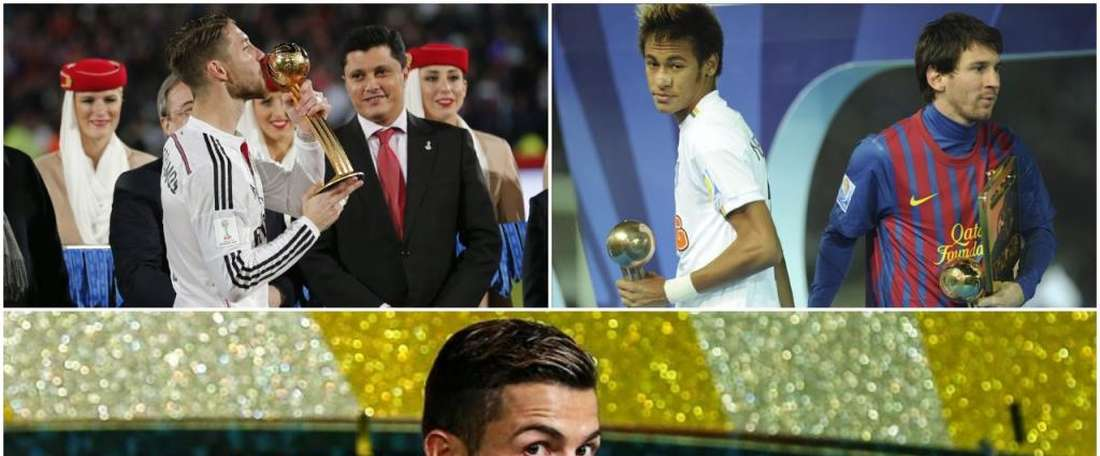 Ramos, Messi and Ronaldo are just some of the Golden Ball winners. BeSoccer
