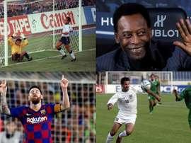 Os grandes recordes da história do futebol. AFP/EFE