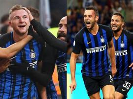 El Inter tiene la segunda mejor defensa de la Serie A. EFE