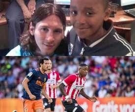 Messi et Steven Bergwijn se retrouveront en ligue des champions. BeSoccer/AFP/SC_ESPN