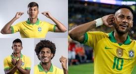 Los tres herederos de Neymar que podremos ver en el Mundial Sub 17. BeSoccer/CBF/AFP