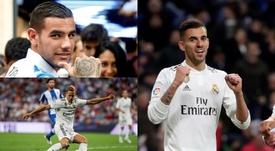 O Nápoles quer Llorente, Ceballos e Theo do Real Madrid. Montaje/EFE
