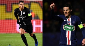 Cavani and Thiago Silva's departure, a relief for PSG accounts. AFP