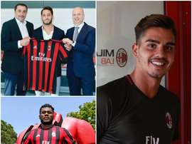 Andre Silva, Franck Kessie and Hakan Calhanoglu are among the new signings. ACMilan