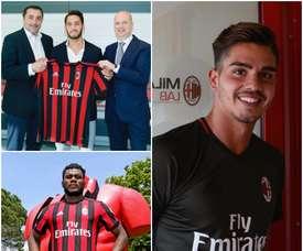 O Milan tem muitas caras novas para a próxima época. ACMilan