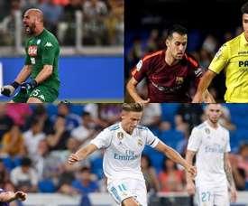 Por el equipo madrileño han pasado varios futbolistas de la élite. AFP