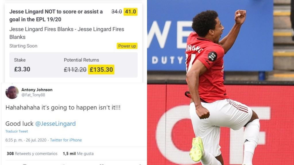 The King Of Trolling Once Again Lingard Ruins Bet In 98th Minute Besoccer