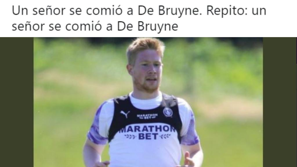 De Bruyne S Seeming Weight Gain Goes Viral Besoccer